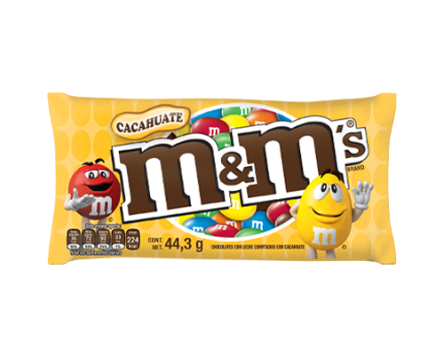 M&MS CACAHUATE 44.3G