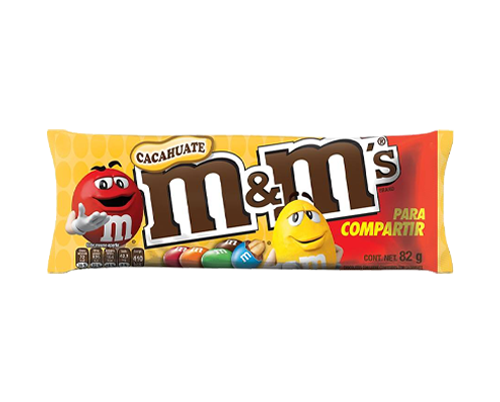 M&MS CACAHUATE SHARING SIZE 82G